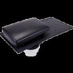 Slate Ventilator Grey 150mm dia c/w connector