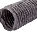 Grey Polyester Round Reinforced PVC Flexible Hose