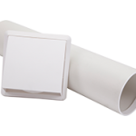 Round Cavity Wall Sleeve with Cowled Outlet