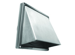 100mm Stainless Steel Cowl with Flap
