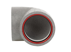 Thermal 160mmØ Round 90° Self-Seal Thermal Ducting Range