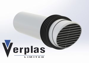 Product Feature of the Week –  White  100mm Round High Rise Ventilator
