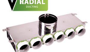 Radial manifold box