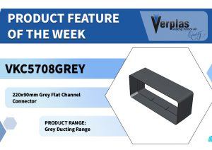Grey Flat Channel Connector – Product feature
