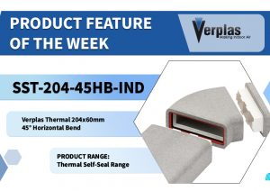 Product Feature 204x60mm Horizontal Thermal Bend