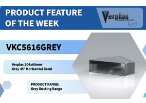 Product Feature – 204x60mm Grey 45° Horizontal Bend
