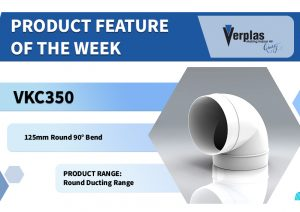 Product Feature – 90° Round Bend