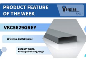 Product Feature – Grey 2m Flat Channel